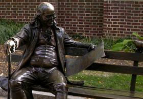 Ben Franklin on the Bench