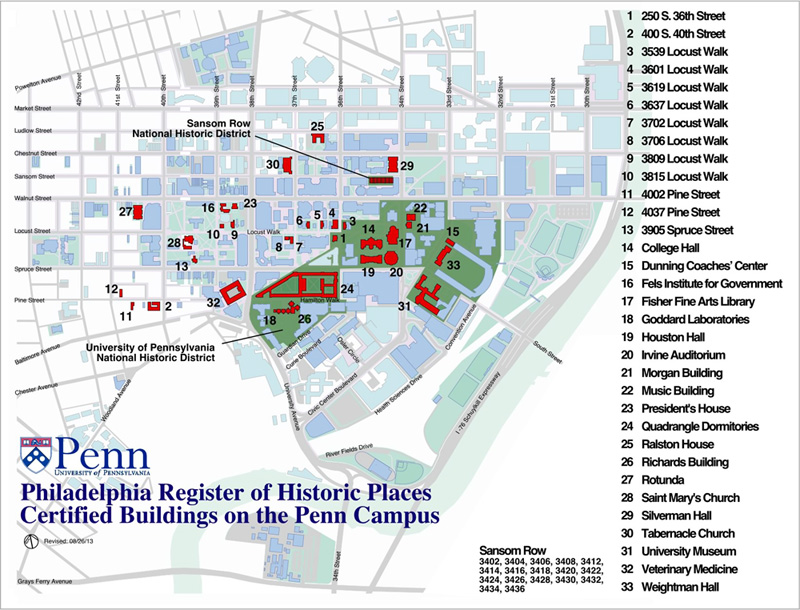 Upenn Campus Map | My blog