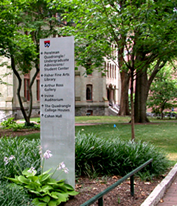 Signage policy university of pennsylvania facilities and - Interior design jobs philadelphia ...
