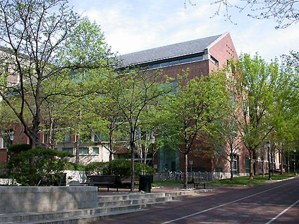 Lauder Institute surrounded by trees
