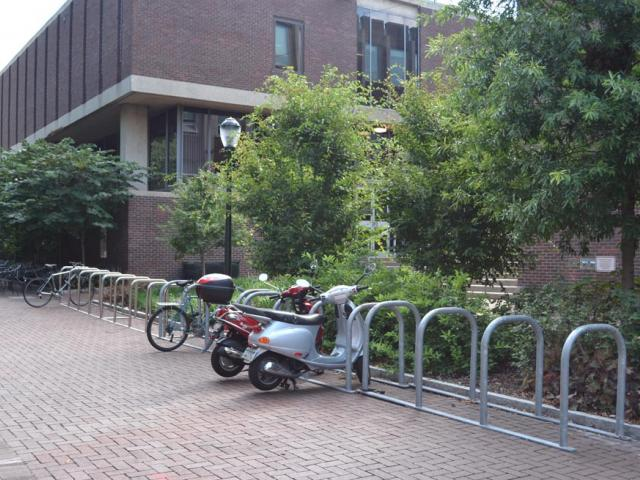 Grad School of Education bike rack
