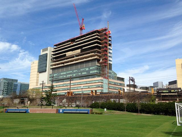 Perelman Center For Advanced Medicine South Tower outside
