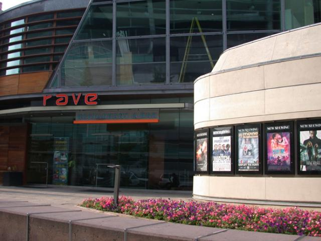 The Cinema entrance