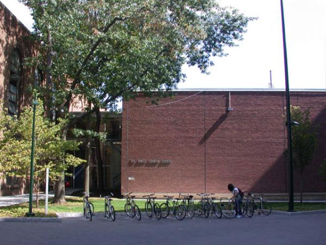 Penn Squash Center side of the building