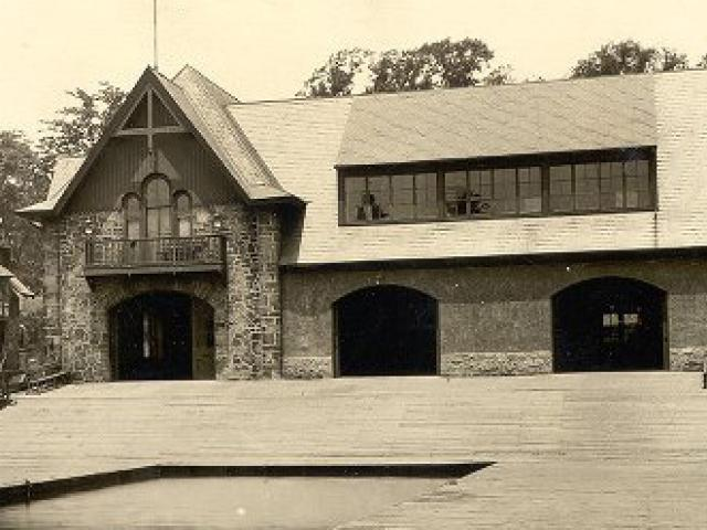 image from 1930 boathouse from Schuylkill