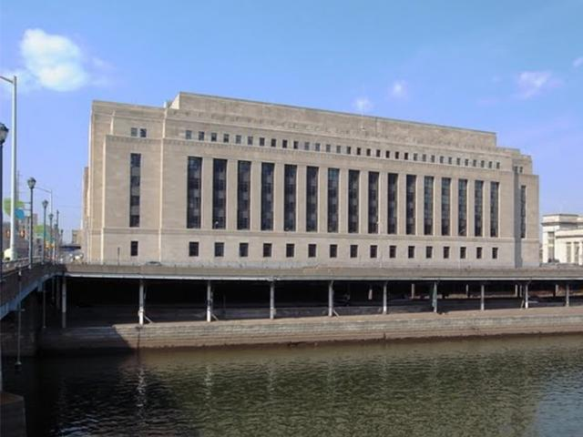former Post Office view from waterfront