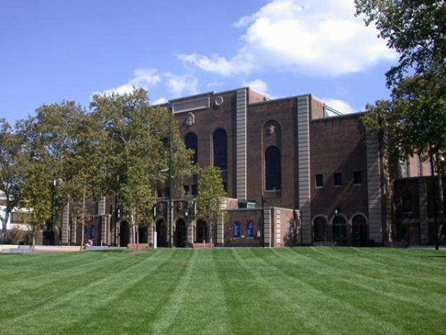 Exterior photo of the Palestra