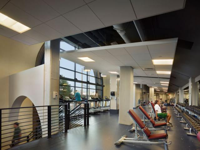 Fox Fitness Center in Weiss Pavilion