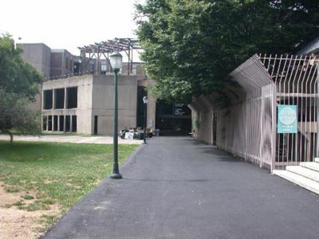 Weingarten Learning Resources Center outside view