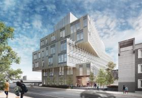 VLEST view from Walnut Street Rendering