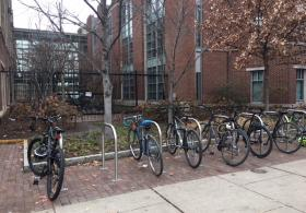 Dental Medicine bike rack