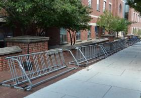 Golkin Hall bike rack