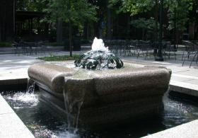 Lindemann Fountain viewed from the cornor