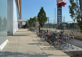 Smilow Center bike rack