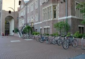 Dunning Coaches Center bike rack