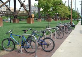 Translational Research bike rack