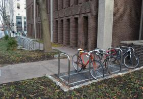 Van Pelt West bike rack