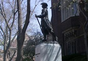 The Youthful Franklin statue