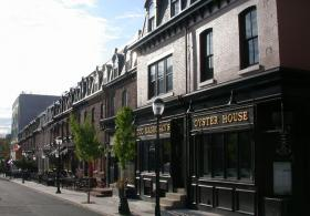 The historic buildings of Sansom Street