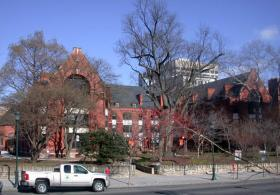 A view of the Ralston House from the street