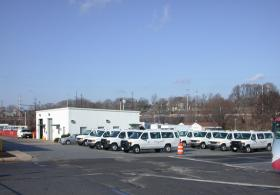 Penn Transit Maintenance Center parking lot