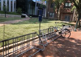 Franklin Building bike rack