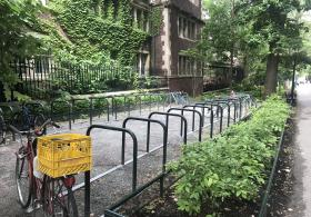 Bike Rack at Hamilton Walk & 38th Street