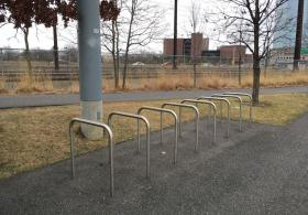 Penn Park east bike rack