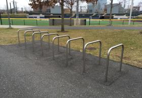 Penn Park West Bike Rack