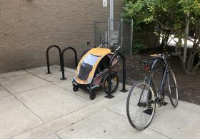 Penn Alexander School bike rack
