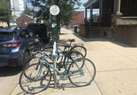 Bike Rack at St. Leonard's Complex
