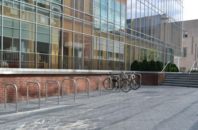 Addams building bike rack