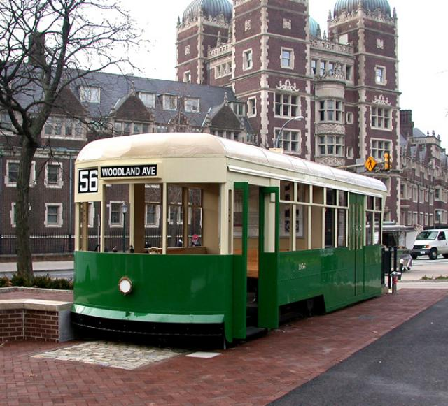 Class of 1956 Trolley