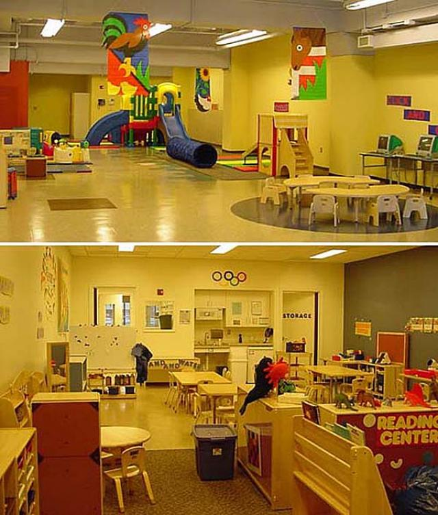 Penn Children's Center interior
