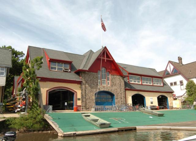 University of Pennsylvania Boathouse street view