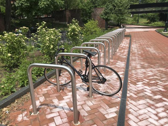 Hill House bike rack