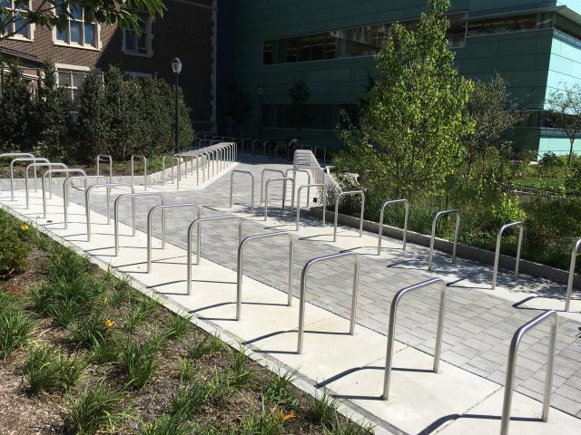 Stephen A. Levin Building Bike Rack