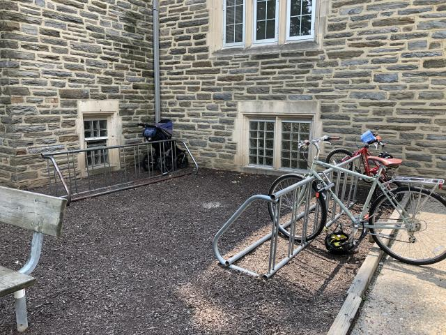 Parent Infant Center bike rack