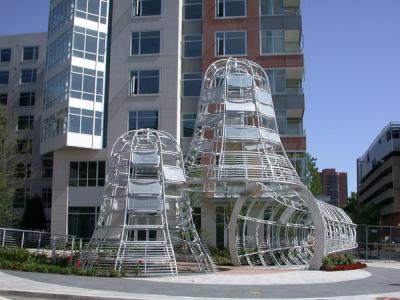 Functional art on Pen campus