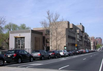 David Rittenhouse Laboratory as seen from the road