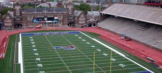 Franklin Field and seating