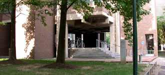 Richards Medical Research Laboratories entrance
