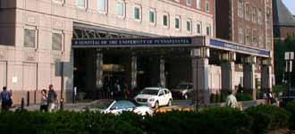 Hospital of the University of Pennsylvania entrnace