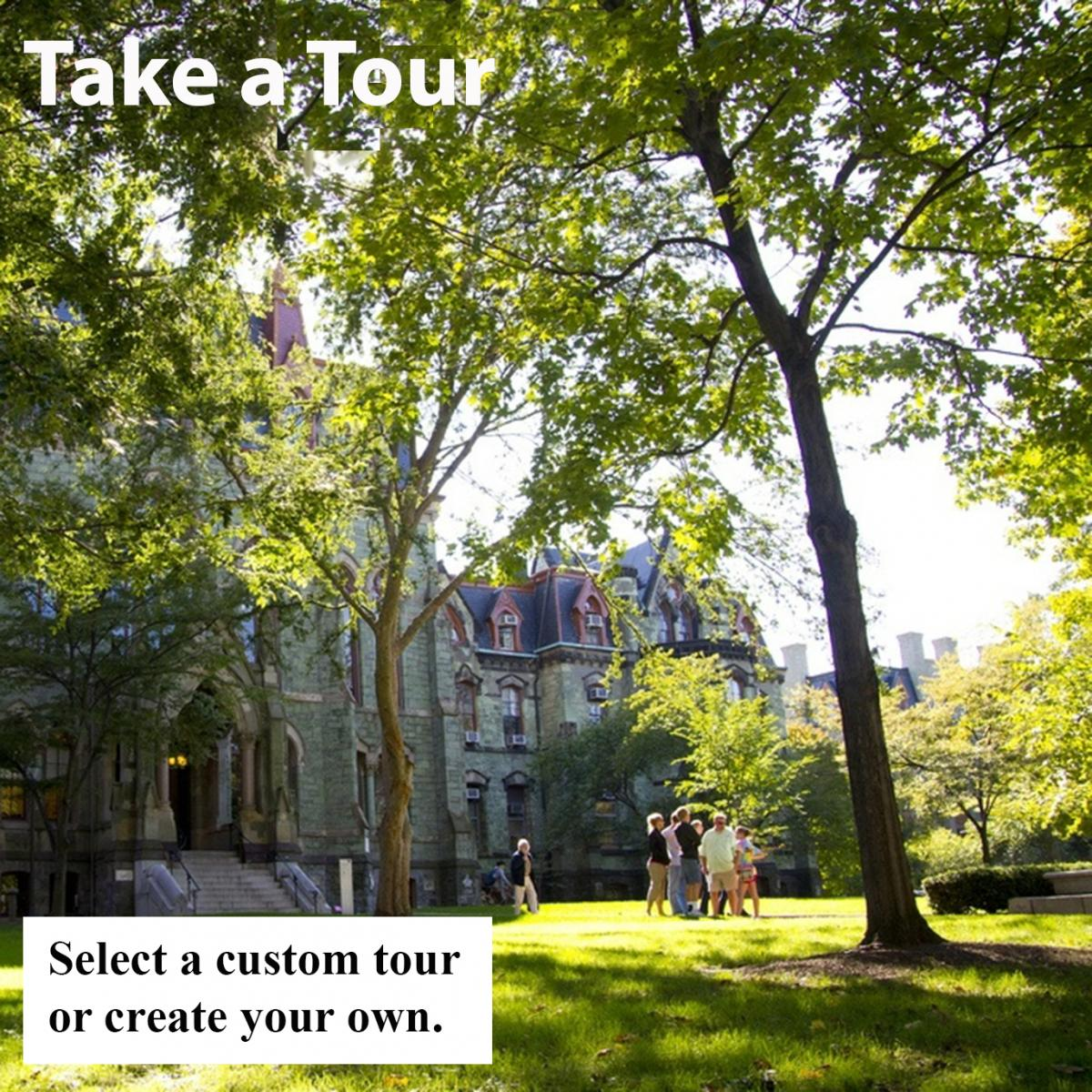 Select a custom tour or create your own